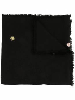 Tory Burch жаккардовый шарф с логотипом 59892
