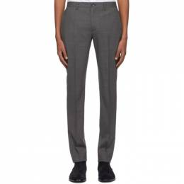 Ps by Paul Smith Grey Wool Mid Fit Trousers M2R-912P-D20034