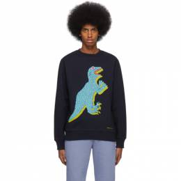Ps by Paul Smith Navy Big Dino Sweatshirt M2R-027R-AP1458
