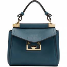 Givenchy Blue Mini Mystic Top Handle Bag BB50C3B0LG