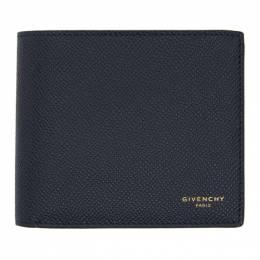 Givenchy Navy Eros Bifold Wallet BK6005K0UG