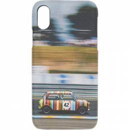 Paul Smith Multicolor Mini Print iPhone X Case M1A-5551-AMINRC
