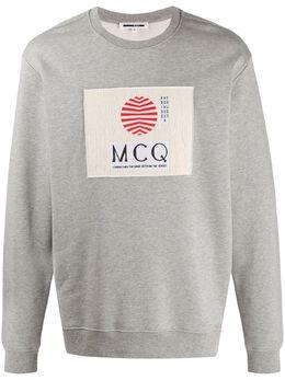 MCQ by Alexander McQueen толстовка с нашивкой-логотипом 545415ROT47