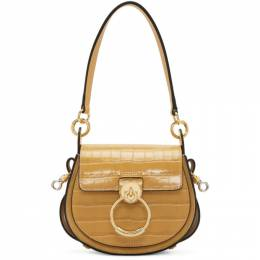 Chloe Yellow Croc Small Tess Bag CHC19SS153A87