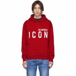 Dsquared2 Red Icon Hoodie S79GU0002 S25042