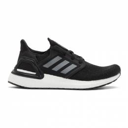 Adidas Originals Black UltraBOOST 20 Sneakers EF1043