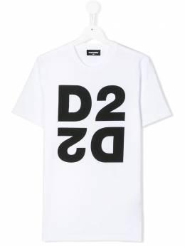 Dsquared2 Kids футболка с логотипом DQ03WITD00XK
