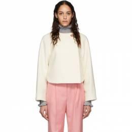 Chloe Off-White Wool Cropped Jacket CHC20SMA16072