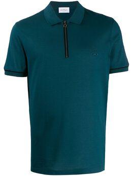 Salvatore Ferragamo рубашка-поло с вышитым логотипом 723443