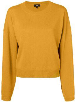 Theory свитер с круглым вырезом I0618704