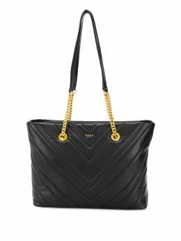 DKNY стеганая сумка-тоут Vivian R94ABF95