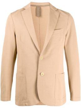 Eleventy однобортный пиджак с необработанными краями A70GIAA01JAC25001