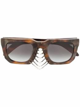Kuboraum декорированные солнцезащитные очки U3 U3