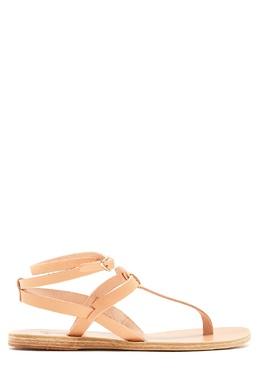 Бежевые сандалии Estia Ancient Greek Sandals 537170930