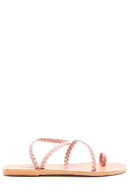 Бежевые сандалии Eleftheria Ancient Greek Sandals 537170931