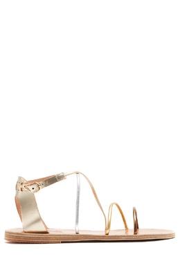 Золотистые сандалии Meloivia Ancient Greek Sandals 537170936