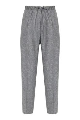 Серые брюки с поясом-кулиской Jil Sander 413171535