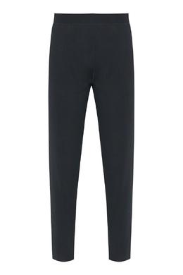 Трикотажные брюки черного цвета Jil Sander 413171586