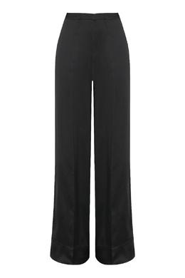 Широкие брюки черного цвета Jil Sander 413171703