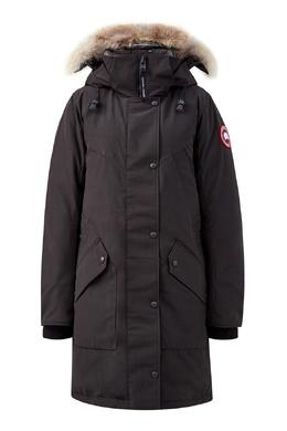 Черная парка с накладными карманами Canada Goose 2521170240
