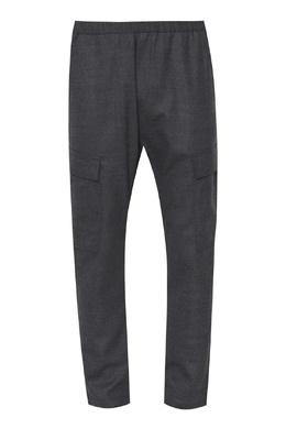 Серые шерстяные брюки Barena 2831173058