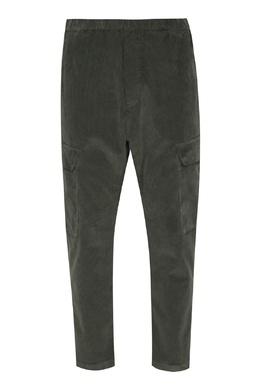 Вельветовые брюки цвета хаки Barena 2831173059