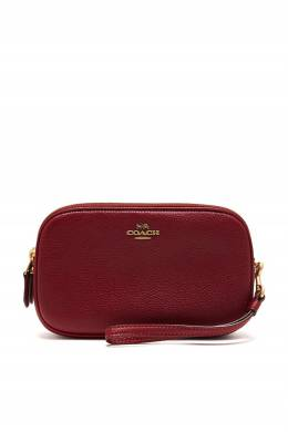 Красный клатч Sadie Crossbody Clutch Coach 2219172774