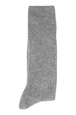 Серые кашемировые носки Jil Sander 413172335
