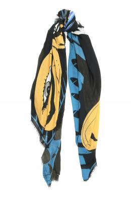 Разноцветный шарф из модала Faliero Sarti 3118172967