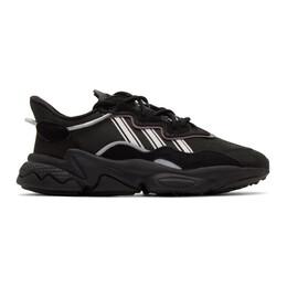 Adidas Originals Black Ozweego Sneakers EG0553