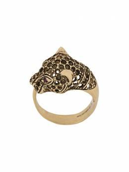 Iosselliani кольцо Heritage в форе гепарда CHEETAHRINGANE3406GSS