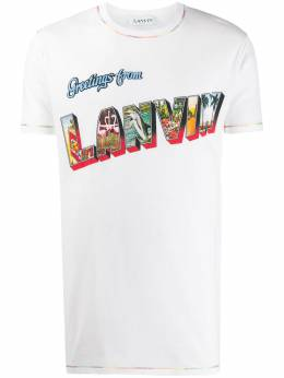 Lanvin футболка с принтом RMJE0020JR07P20
