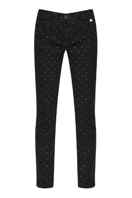 Черные джинсы с блестками Il Gufo 1205172558