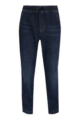 Прямые темно-синие джинсы Il Gufo 1205172562