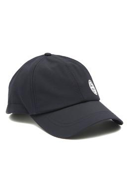 Синяя бейсболка с логотипом Stone Island 1701173546