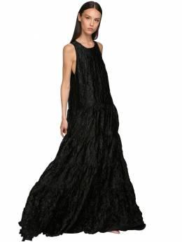 Платье Из Атласа Rochas 71I1K5009-MDAx0