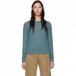Max Mara Blue Cashmere and Silk Ciad Sweater 13610501000 12025