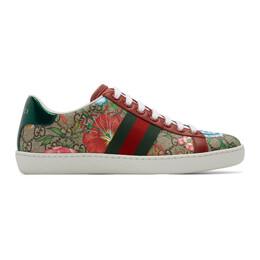 Gucci Multicolor GG Flora Ace Sneakers 433900 HT520