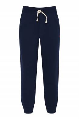 Темно-синие брюки на резинке Ralph Lauren Kids 1252173327