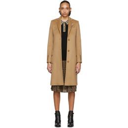 Burberry Brown Bramley Coat 8022782