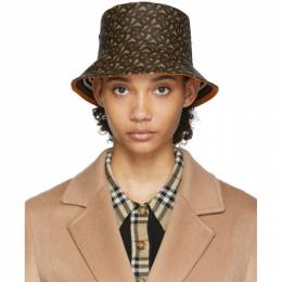 Burberry Brown Monogram Bucket Hat 8023808