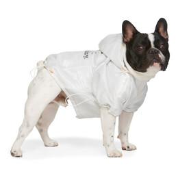 Heron Preston White VIP Edition Logo Windbreaker Jacket HWZG007E197830300188