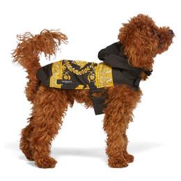Versace Black Medusa Dog Raincoat ZDOGRACO1 ZPUL0012