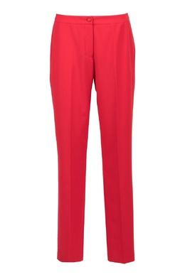 Красные брюки классического кроя Blumarine 533174301
