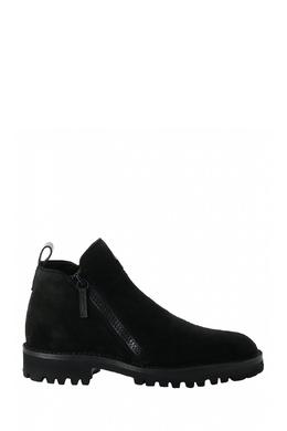 Ботинки из черной замши Giuseppe Zanotti Design 2096174308