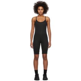 Adidas Originals Black Cycling Bodysuit FM2601