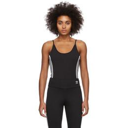 Adidas Originals Black Cotton Bodysuit FM2576