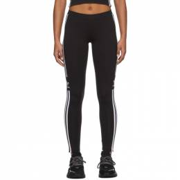 Adidas Originals Black Trefoil Tights DV2636