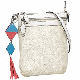 Loewe White Leather Crossbody Bag