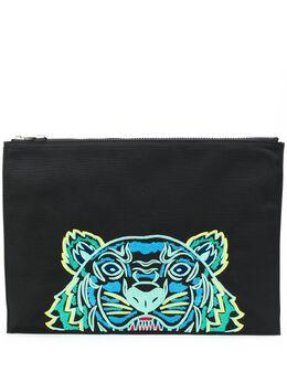 Kenzo клатч с логотипом Tiger FA55PM322F20